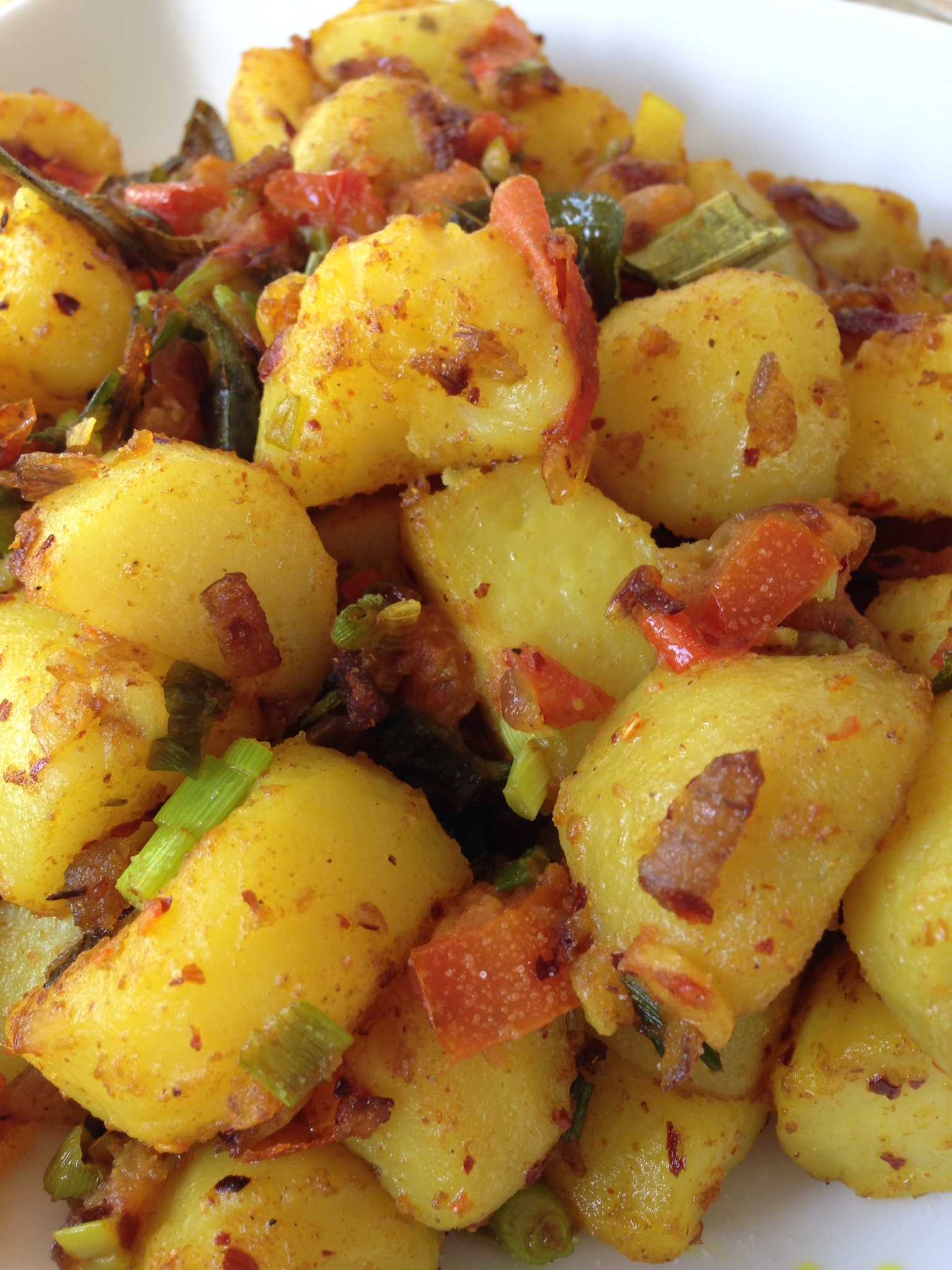 srilanka dry potato curry