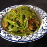Hari Hari Sri Lanka Spiced Sugar Snap Peas
