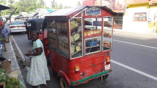 Hari Hari Sri Lanka Bread Man Trishaw