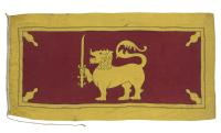 Old Ceylon flag Sri Lanka