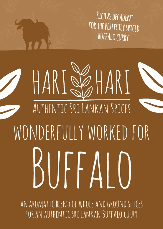 Hari Hari Buffalo Curry Spice Pack