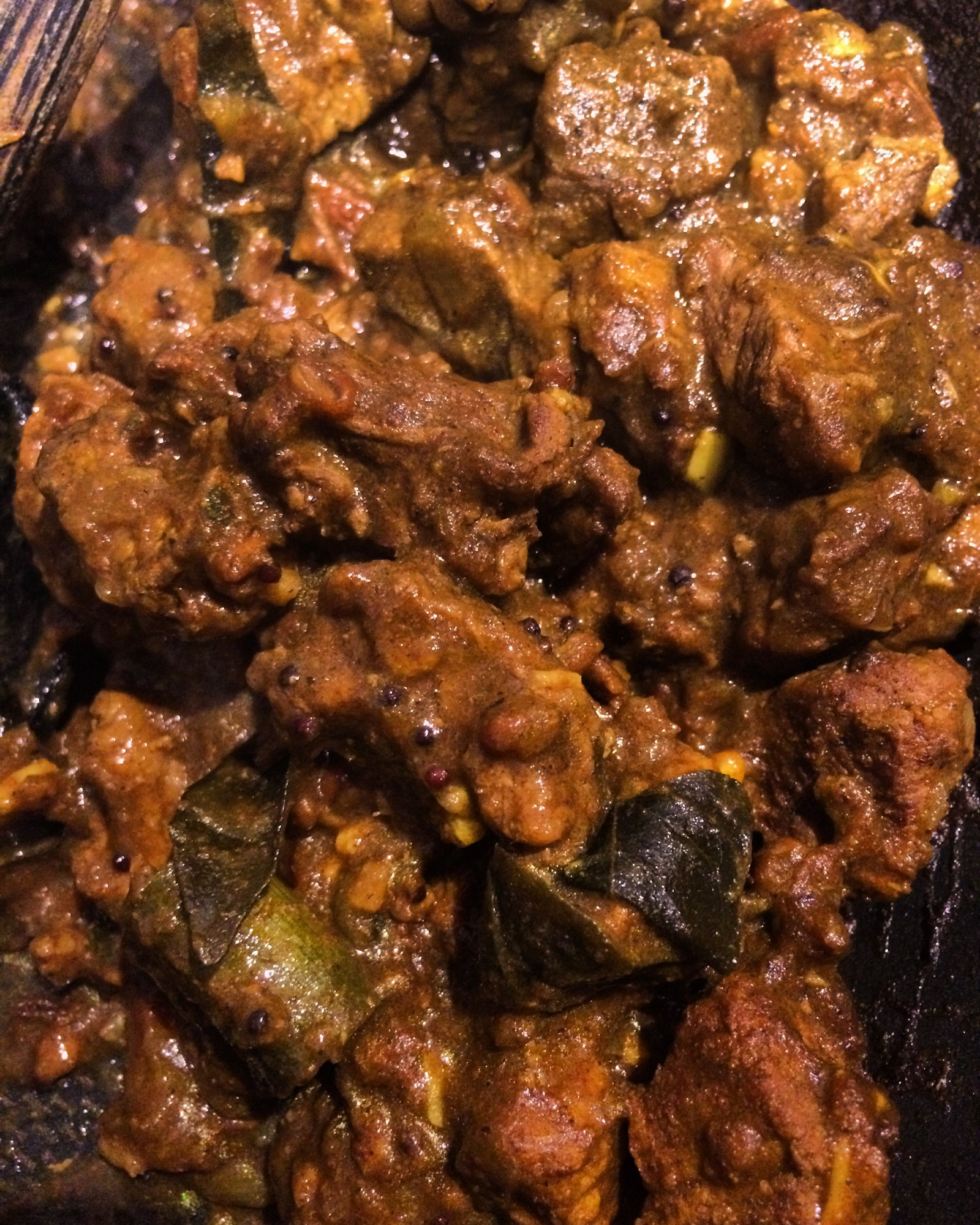 Gin Beef Curry